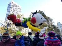 Desfile de Globos de Macy's del Día de Acción de Gracias en New York