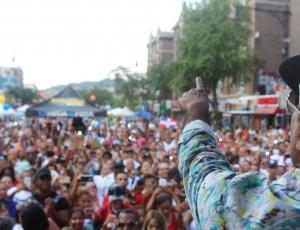 Calor y Lluvia No Impide Festival Duartiano de Dyckman y Pegate Y Gana Con El Pacha